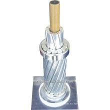 Conductor de ACCC cable pelado / conductor de aluminio conductor de fibra compuesto de fibra de carbono reforzado