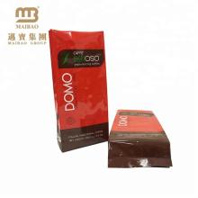 Logotipo personalizado impresso folha saco de embalagem de café laminado
