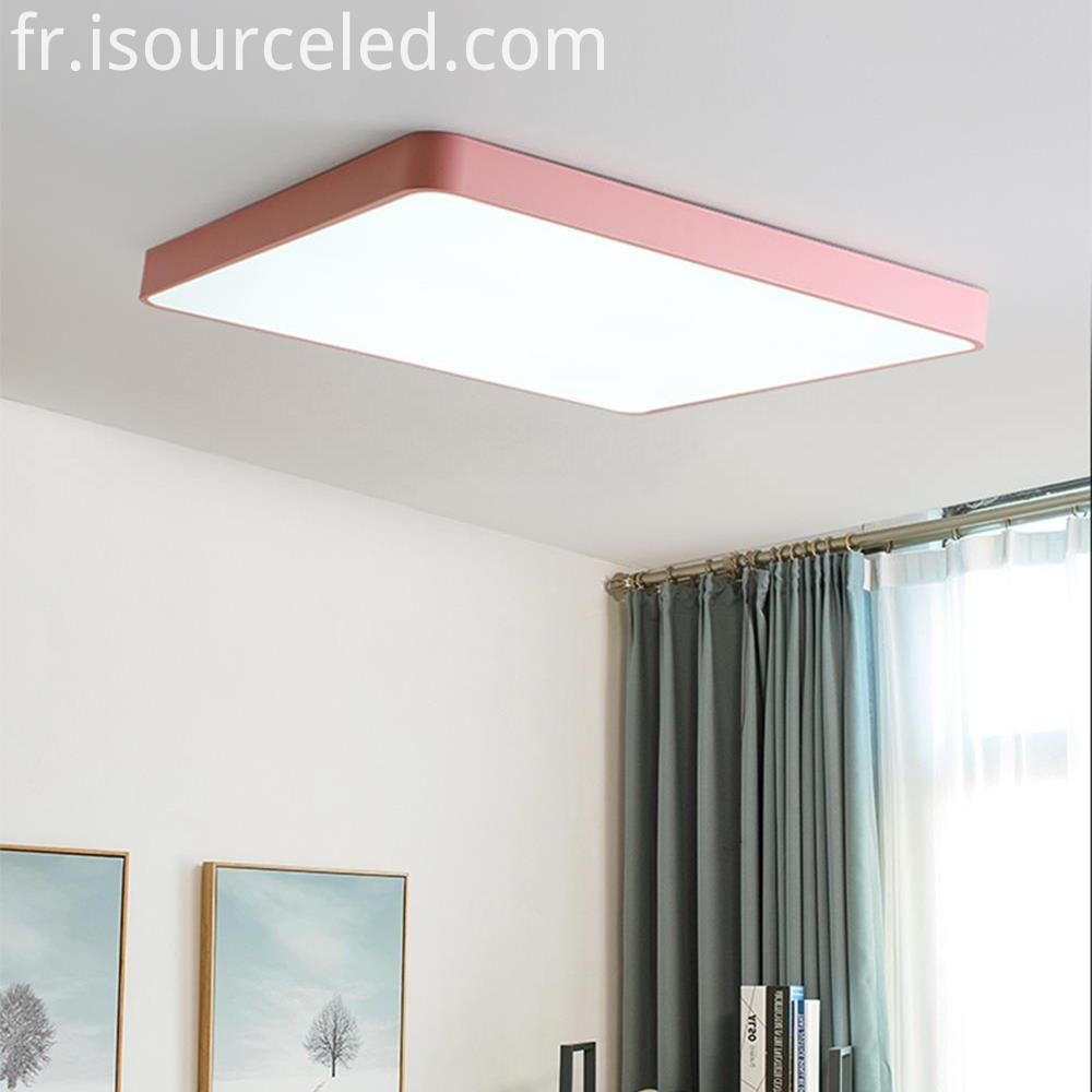 Square led ceiling light recessed 35W 3000K