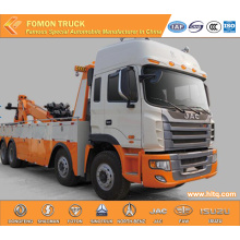 JAC 8X4 heavy wrecker towing truck
