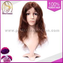 Perruque usine moins de 5 $ cheveux tressés remy brésilien pleine dentelle avant perruques