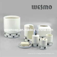 Accessoires de salle de bain en porcelaine de qualité supérieure (WBC0402A)