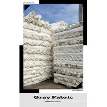 150T 180k blanchissant tissu blanc couleur personnalisable couleur unie