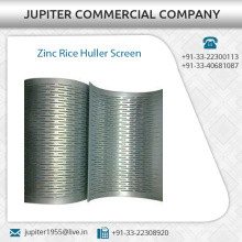 Best Quality Zinc Rice Huller Screen Available in Different Sizes and Thickness