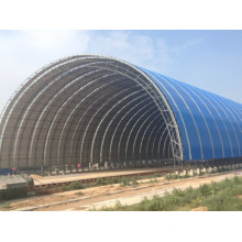 Light Steel Structure Space Frame Dome Shed