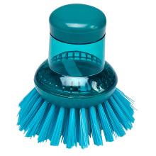 Cepillo plástico del pote de la limpieza de la tabla de la cacerola del uso en el hogar del hogar de la buena calidad