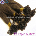 Alibaba Chinois Fournisseur Cuticule Aligné Vierge Cheveux U Pointe Cheveux Extension