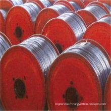 Fil d'acier plaqué par aluminium de conducteur aérien inoxydable comme dans le tambour en bois