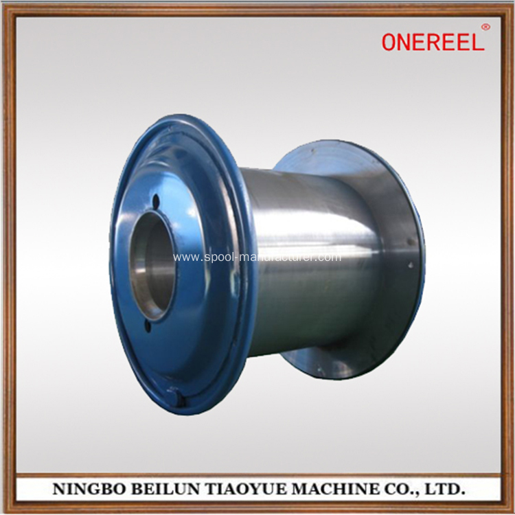 China dynamic balance double flange steel cable reels