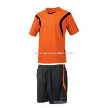 trajes de baloncesto del juego de fútbol del poliéster del diseño de moda