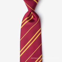 Handgemachte 100% Seide gewebt Streifen Hals hohe Qualität Krawatte
