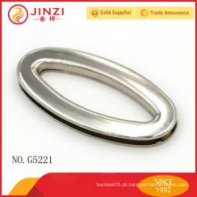 Liga de zinco bolsa brilhante ilhós mulheres bolsa de hardware