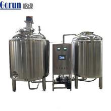 Tanque de mistura farmacêutico de mistura de aço inoxidável do tanque 500l