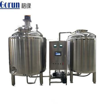 Tanque de mistura de agitação da bebida do produto comestível de aço inoxidável