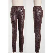 2013 Leggings Moda, PU Leather Look Leggings para Moda Mulheres
