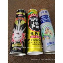 Aérosols vides pour insectifuge (600 ml)