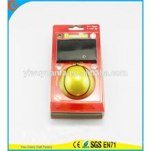Projeto de novidade Brinquedo de criança Brinquedo de listras amarelas Olá Bola de rebote de borracha