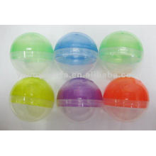 Круглые Пластиковые пустые капсулы для торгового автомата