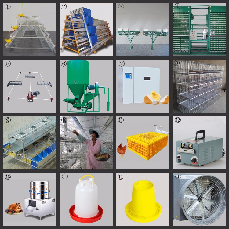 Broiler farming equipment accessories