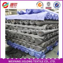 La Chine fabrique 100% des tissus de stock de popeline de coton pour shirting tissu de stock de popeline pour le vêtement