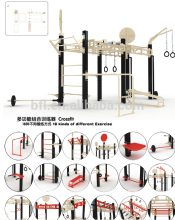 High quality and Reasonable Price -- Fitness Crossfit/Multi-function Exercise Equipment