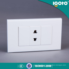 Switches Elétricos Igoto US Standard Double Use 2 Pin Socket