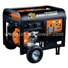 Generador eléctrico de la soldadura de la gasolina 5kw con CE Soncap