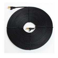 Alta velocidade SFTP cat7 cabo de remendo plano rede