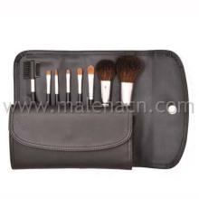 8PCS Makeup Brush with Black Cosmetic Bag