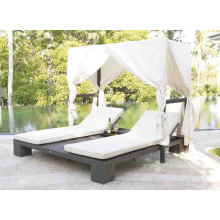 Patio jardin Rotin osier mobilier d'extérieur piscine Sunlounger