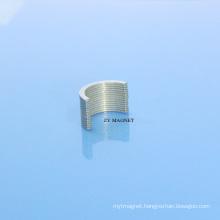 High Arch Arcndfeb Neodymium Permanent Magnet