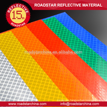Prismatic good quality reflective sheeting