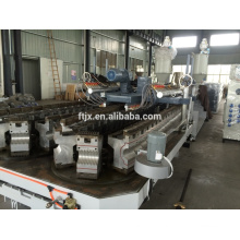 Plastic Steel hdpe large diameter steel pipe production line