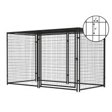 Best Popular Wholesale Large Modular Outdoor Welded Wire Mesh Dog Kennel Fence Panel Dog Kennel Designs For Sale