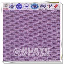 YT-8001, tecido de malha atlético de fluxo de ar de polyster