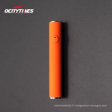 12.5*134mm glass tube cbd vape pen 550mah cbd vape battery