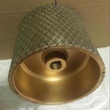 le plus bas prix haute qualité diamant abrasif tambour roue pour doublure de frein