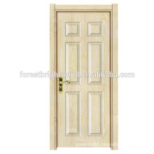 Wooden Doors Design Modern Melamine Swing Interior Door