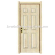 Portas de madeira Design Modern Melamine Swing Interior Door