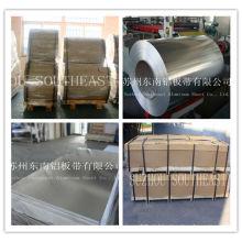 Série 8000 de alumínio usado em pequeno recipiente de alumínio