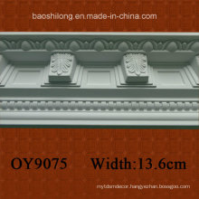 PU Corner Decorative Cornice Crown Moulding for Interior / Exterior