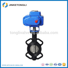 actuator operated 2 inch stainless steel high pressure butterfly valve