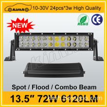 Good aftersales service 72W super brightness waterproof led grow light bar