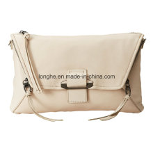 Hot Selling PU Leather Ladies Shoulder Handbag (ZXS0108)