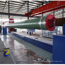 FRP pipe winding mandrels pipe fitting winding mould