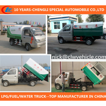 Changan Rubbish Truck 4X2 Garbage Truck Small Gasoline Rubbish Truck