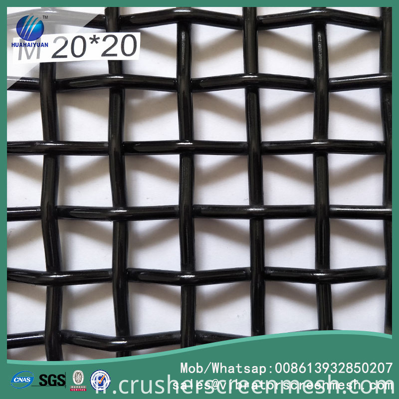 crusher screen mesh 20mm