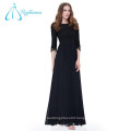 Floor Length Lace Sashes Sheath Custom Made Women Evening Dresses