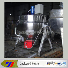 LPG Gas Heating Tomato Cooking Pot Jacket Kettle