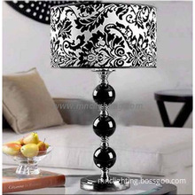 Italy style new classical black crystal beside table lamps